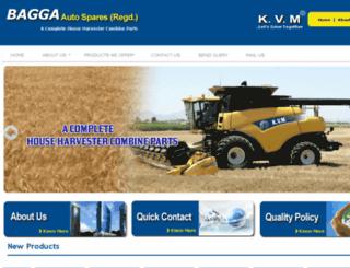 baggaautosparesregd.com screenshot
