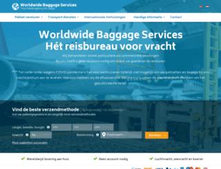 baggage.nl screenshot