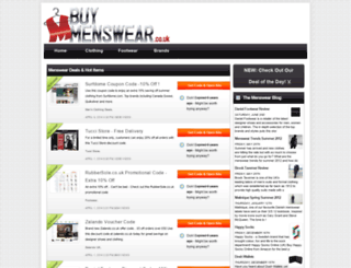 baggamenswear.co.uk screenshot