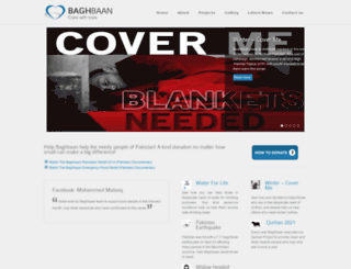 baghbaan.org screenshot
