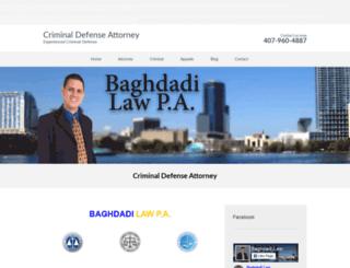 baghdadilawpa.com screenshot
