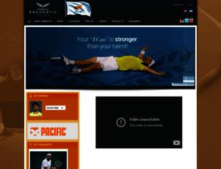baghdatis.com screenshot