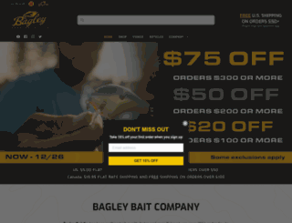 bagleybait.com screenshot