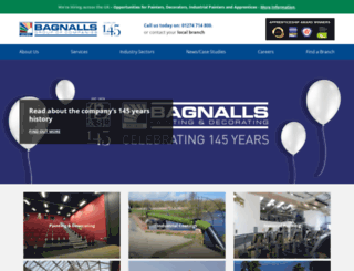 bagnalls.co.uk screenshot