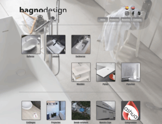 bagno-design.es screenshot
