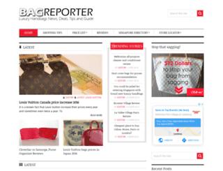 bagreporter.com screenshot