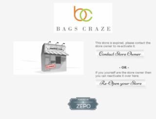 bagscraze.com screenshot