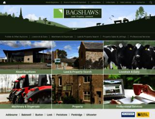 bagshaws.com screenshot