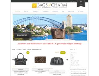 bagsofcharm.com.au screenshot