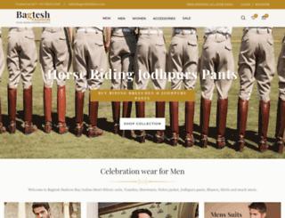 bagteshfashion.com screenshot