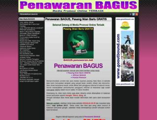 bagus.penawaran.net screenshot