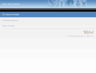 bah.aspireawards.com screenshot