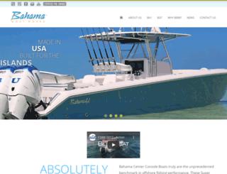 bahamaboatworks.com screenshot