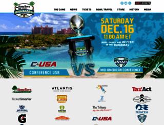 bahamasbowl.com screenshot