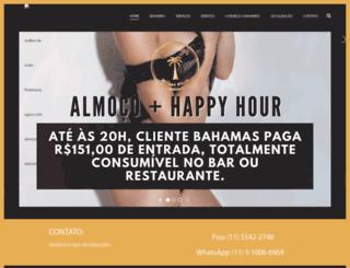 bahamashotelclub.com.br screenshot