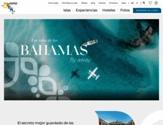 bahamasturismo.es screenshot