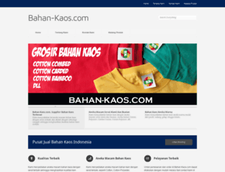 bahan-kaos.com screenshot