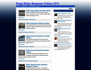 bahanbangunanz.blogspot.com screenshot