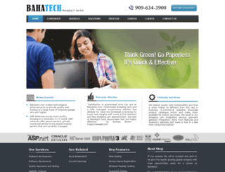 bahatech.com screenshot