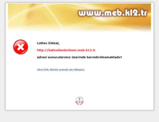 bahcelievlerlisesi.meb.k12.tr screenshot