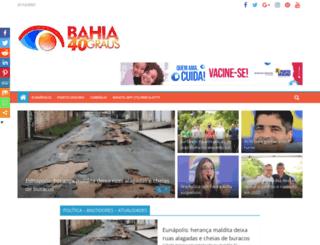 bahia40graus.com.br screenshot