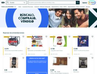 bahiadecaraquez.olx.com.ec screenshot