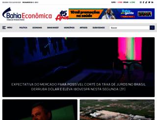 bahiaeconomica.com.br screenshot