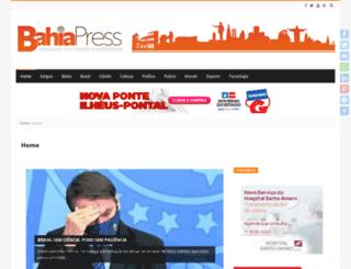 bahiapress.com.br screenshot