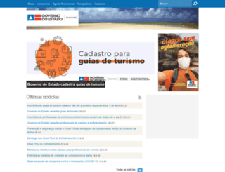 bahiatursa.ba.gov.br screenshot