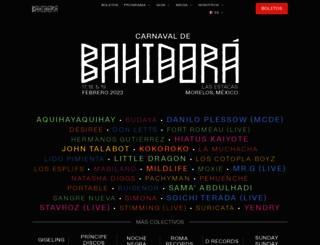 bahidora.com screenshot