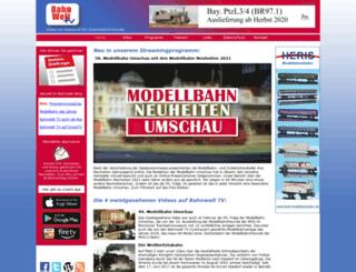 bahnwelt-tv.de screenshot