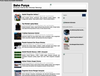 baho-punya.blogspot.com screenshot