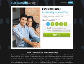 bahraindating.org screenshot