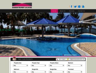 bahrainpropertylocators.com screenshot