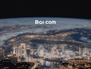 bai.com screenshot