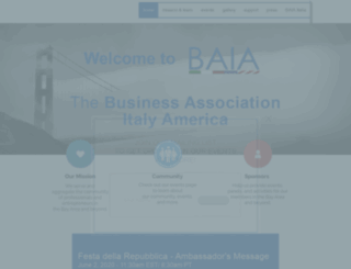 baia-network.org screenshot