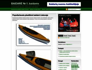 baidare1.lt screenshot