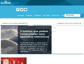 baidubrasil.blog.br screenshot