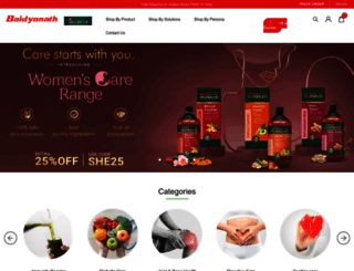 baidyanath.com screenshot