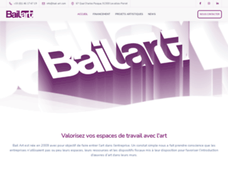 bail-art.com screenshot