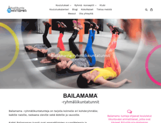 bailamama.fi screenshot