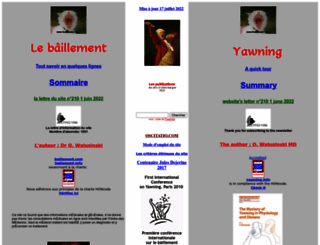 baillement.com screenshot