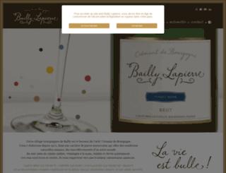 bailly-lapierre.fr screenshot