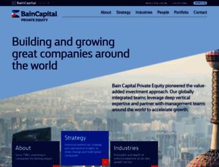 baincapitalprivateequity.com screenshot