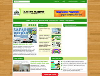 baitulmaqdis.com screenshot