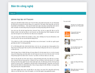 baivietcongnghemoi.blogspot.com screenshot