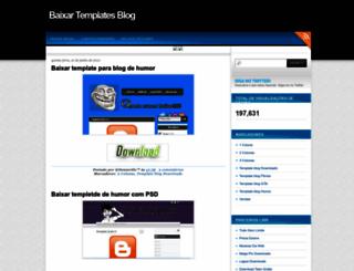 baixartemplatesblog.blogspot.com.br screenshot