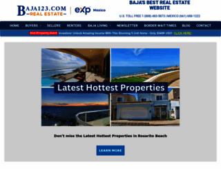 baja123.com screenshot