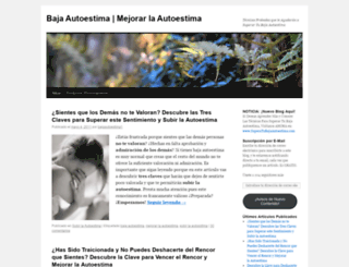 bajaautoestima1.wordpress.com screenshot