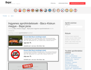 bajaiapro.hu screenshot